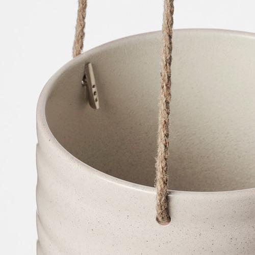 KAPKRUSBÄR - 掛式花盆架, 淺灰色   IKEA 香港及澳門 - PE789484_S4