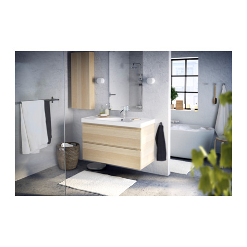 GODMORGON - 單門吊櫃, 染白橡木紋 | IKEA 香港及澳門 - PE359847_S4