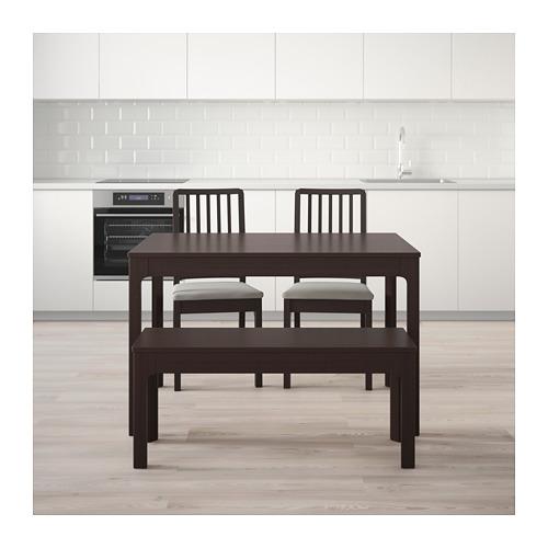 EKEDALEN/EKEDALEN - 餐檯組合, 深褐色/Orrsta 淺灰色 | IKEA 香港及澳門 - PE641871_S4