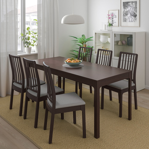 EKEDALEN/EKEDALEN table and 4 chairs