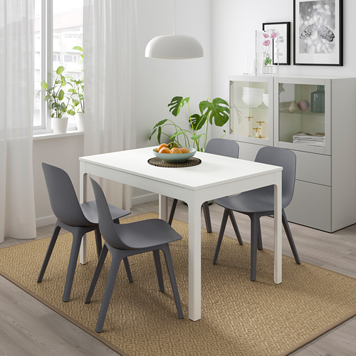 ODGER/EKEDALEN - table and 4 chairs, white/blue | IKEA Hong Kong and Macau - PE732339_S4