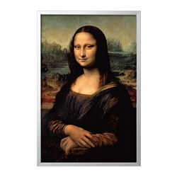 BJÖRKSTA - 畫連框, Mona Lisa/aluminium-colour | IKEA 香港及澳門 - PE786789_S3