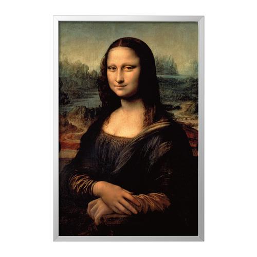 BJÖRKSTA - picture with frame, Mona Lisa/aluminium-colour | IKEA Hong Kong and Macau - PE786789_S4