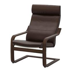POÄNG - armchair, brown/Glose dark brown | IKEA Hong Kong and Macau - PE231459_S3