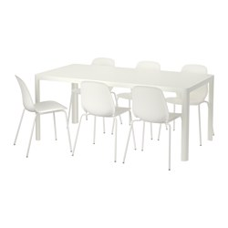 LEIFARNE/TINGBY - 一檯六椅, 白色/白色 | IKEA 香港及澳門 - PE641942_S3