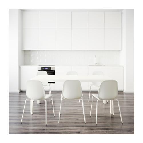LEIFARNE/TINGBY - table and 6 chairs, white/white | IKEA Hong Kong and Macau - PE641941_S4
