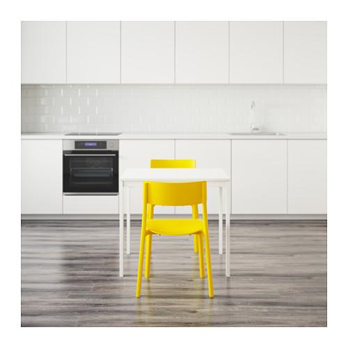 JANINGE/VANGSTA - 一檯兩椅, 白色/黃色 | IKEA 香港及澳門 - PE641943_S4