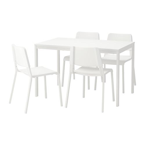 TEODORES/VANGSTA - 一檯四椅, 白色/白色 | IKEA 香港及澳門 - PE641954_S4