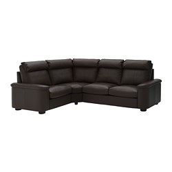LIDHULT - corner sofa, 4-seat, Grann/Bomstad dark brown | IKEA Hong Kong and Macau - PE689388_S3