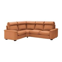 LIDHULT - corner sofa, 4-seat, Grann/Bomstad golden-brown | IKEA Hong Kong and Macau - PE689391_S3