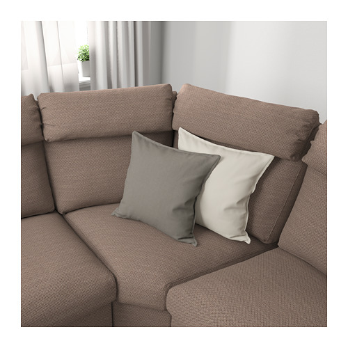 LIDHULT - corner sofa, 4-seat, Lejde beige/brown | IKEA Hong Kong and Macau - PE689393_S4