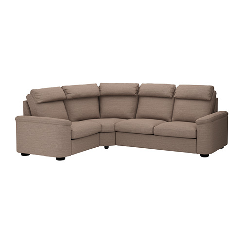 LIDHULT - corner sofa, 4-seat, Lejde beige/brown | IKEA Hong Kong and Macau - PE689395_S4