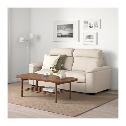 LIDHULT - 2-seat sofa-bed, Gassebol light beige | IKEA Hong Kong and Macau - PE706097_S4