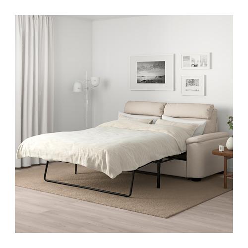 LIDHULT - 2-seat sofa-bed, Gassebol light beige | IKEA Hong Kong and Macau - PE706098_S4