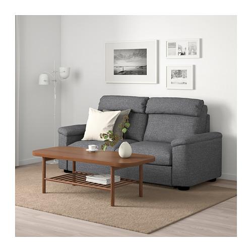 LIDHULT - 2-seat sofa-bed, Lejde grey/black   IKEA Hong Kong and Macau - PE689422_S4
