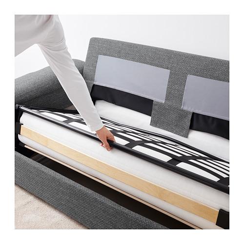 LIDHULT - 2-seat sofa-bed, Lejde grey/black   IKEA Hong Kong and Macau - PE689425_S4