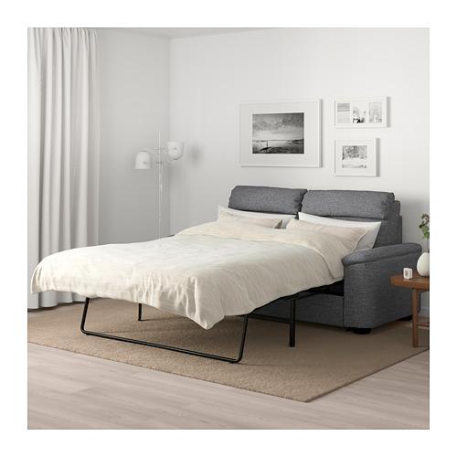 LIDHULT - 2-seat sofa-bed, Lejde grey/black   IKEA Hong Kong and Macau - PE689424_S4
