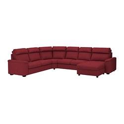 LIDHULT - 6座位角位梳化床, 連躺椅/Lejde 啡紅色 | IKEA 香港及澳門 - PE689468_S3