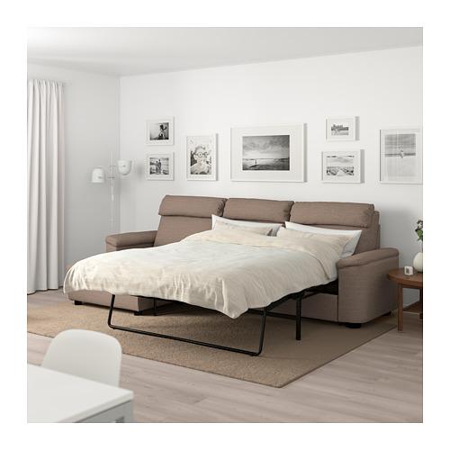 LIDHULT 3-seat sofa-bed