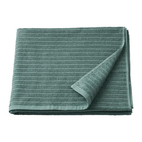 VÅGSJÖN - 浴巾, 灰湖水綠色 | IKEA 香港及澳門 - PE786853_S4