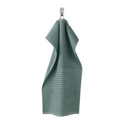 VÅGSJÖN - hand towel, grey-turquoise   IKEA Hong Kong and Macau - PE786869_S3