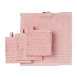 VÅGSJÖN - washcloth, light pink   IKEA Hong Kong and Macau - PE786854_S3