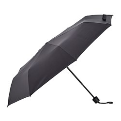 KNALLA - umbrella, foldable black | IKEA Hong Kong and Macau - PE786876_S3