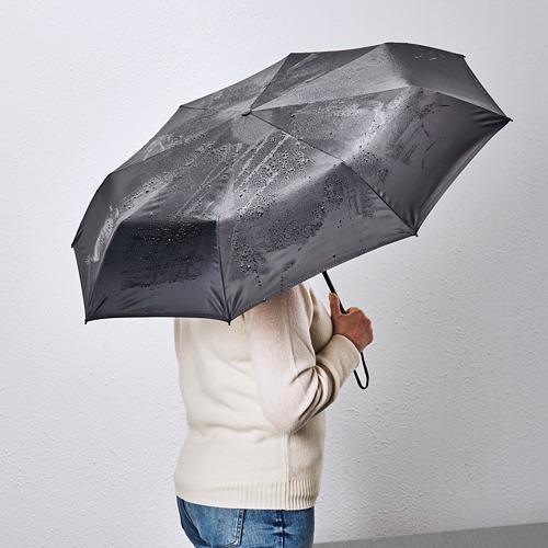 KNALLA - 雨傘, 可摺合 黑色 | IKEA 香港及澳門 - PE786875_S4