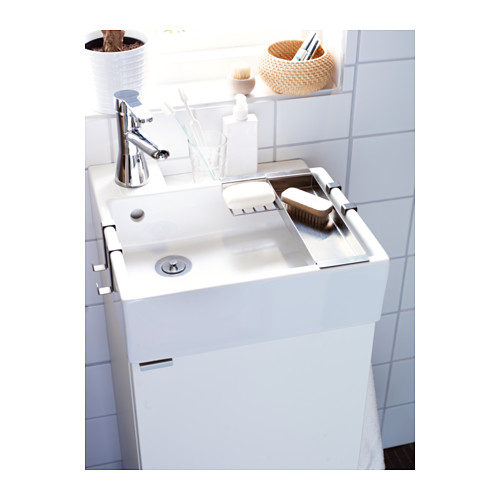LILLÅNGEN - 單門洗手盆櫃, 白色   IKEA 香港及澳門 - PE318124_S4
