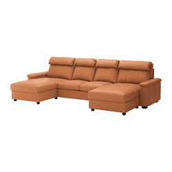 LIDHULT - 4-seat sofa, with chaise longues/Grann/Bomstad golden-brown | IKEA Hong Kong and Macau - PE689538_S3