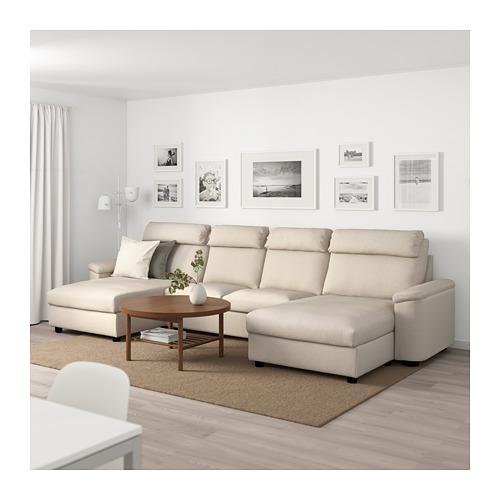 LIDHULT - 四座位梳化, 連躺椅/Gassebol 淺米黃色 | IKEA 香港及澳門 - PE689542_S4