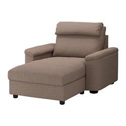 LIDHULT - 躺椅, Lejde 米黃色/褐色 | IKEA 香港及澳門 - PE689566_S3