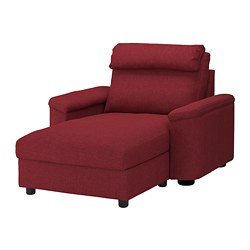 LIDHULT - chaise longue, Lejde red-brown | IKEA Hong Kong and Macau - PE689572_S3