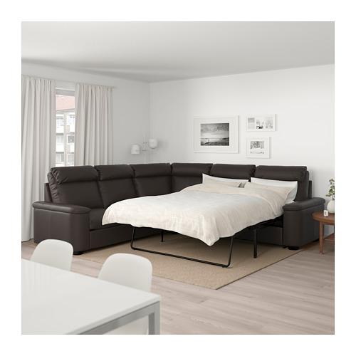 LIDHULT - 5座位角位梳化床, Grann/Bomstad 深褐色 | IKEA 香港及澳門 - PE689586_S4
