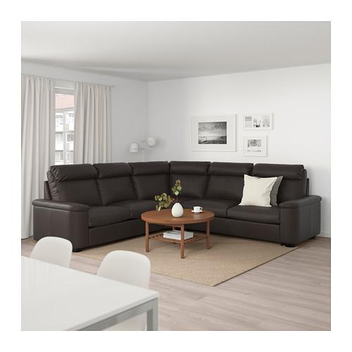 LIDHULT - 5座位角位梳化床, Grann/Bomstad 深褐色 | IKEA 香港及澳門 - PE689589_S4