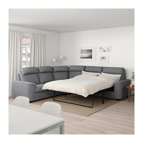LIDHULT 5座位角位梳化床