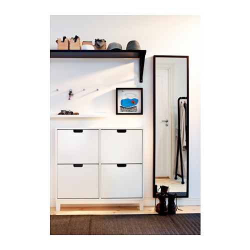 STÄLL - shoe cabinet with 4 compartments, white | IKEA Hong Kong and Macau - PE342024_S4
