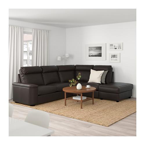 LIDHULT - corner sofa, 5-seat, with open end/Grann/Bomstad dark brown   IKEA Hong Kong and Macau - PE689613_S4