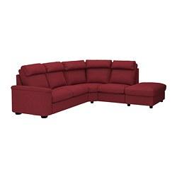 LIDHULT - 五座位角位梳化, 開放式/Lejde 啡紅色   IKEA 香港及澳門 - PE689620_S3