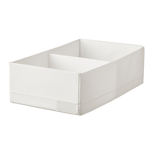STUK - 分格貯物箱, 20x34x10cm, 白色 | IKEA 香港及澳門 - PE786986_S4
