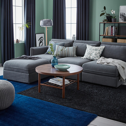 TYVELSE - 短毛地氈, 深藍色   IKEA 香港及澳門 - PE732550_S4