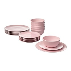 DINERA - 18-piece service, light pink | IKEA Hong Kong and Macau - PE732580_S3