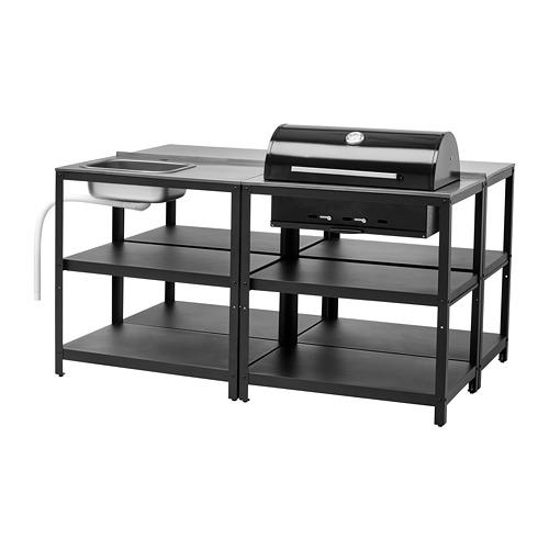 GRILLSKÄR - 廚房星盆/燒烤炭爐,戶外用, 不銹鋼 | IKEA 香港及澳門 - PE787054_S4
