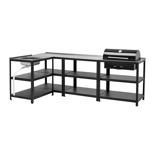 GRILLSKÄR - 廚房星盆/燒烤炭爐,戶外用, 不銹鋼 | IKEA 香港及澳門 - PE787055_S4