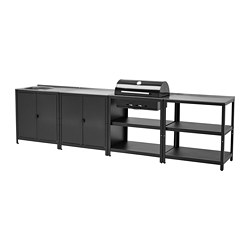 GRILLSKÄR - 廚房星盆/燒烤炭爐,戶外用, stainless steel | IKEA 香港及澳門 - PE787057_S3