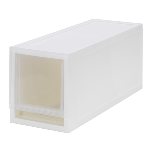 SOPPROT - pull-out storage unit, transparent white | IKEA Hong Kong and Macau - PE642274_S4