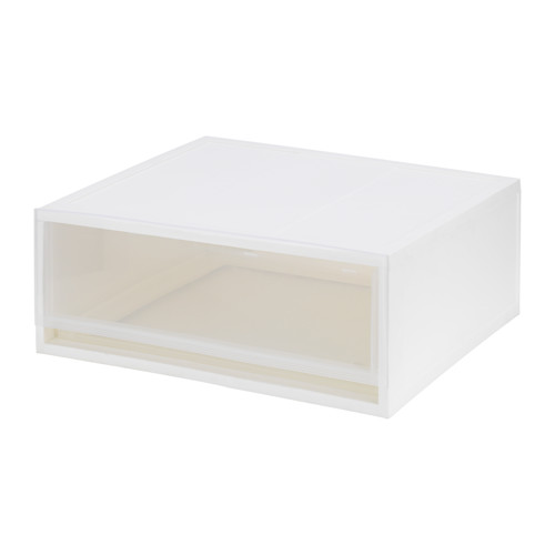 SOPPROT - pull-out storage unit, transparent white | IKEA Hong Kong and Macau - PE642276_S4