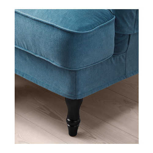 STOCKSUND - armchair, Ljungen blue/black/wood | IKEA Hong Kong and Macau - PE689677_S4