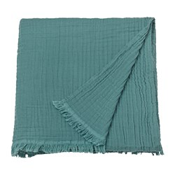 VALLKRASSING - 輕便暖氈, 灰湖水綠色 | IKEA 香港及澳門 - PE787080_S3