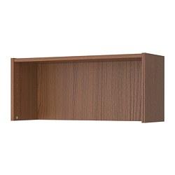 BILLY - height extension unit, brown ash veneer | IKEA Hong Kong and Macau - PE732728_S3